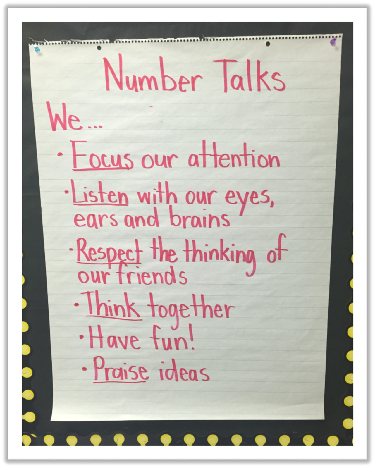 Adventures In Guided Math Number Talks Book Study