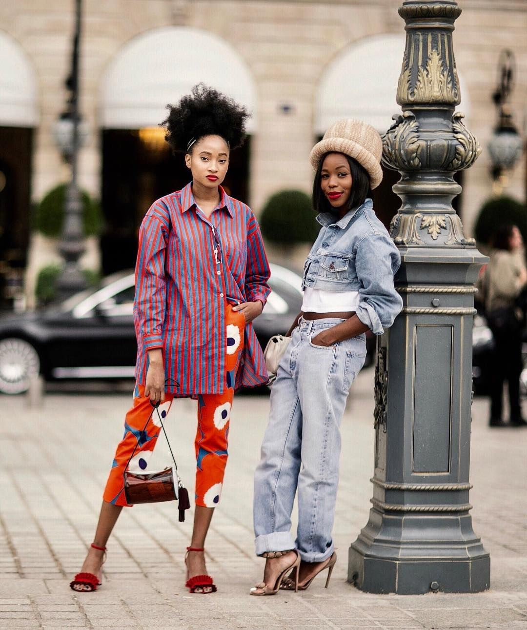 Black Female Fashion: BG STREET STYLE/Candice Marie (@marie_mag_) & Kahlana