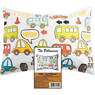 Toddler Pillowcase Travel Pillowcase 100 Cotton Sateen