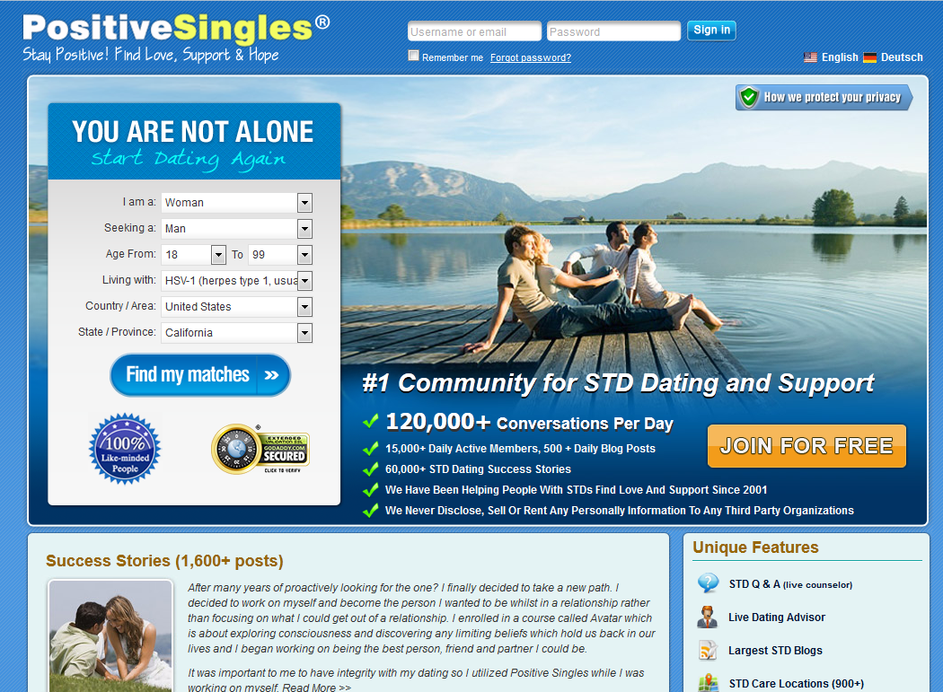 For Living With Dating Hiv Site People