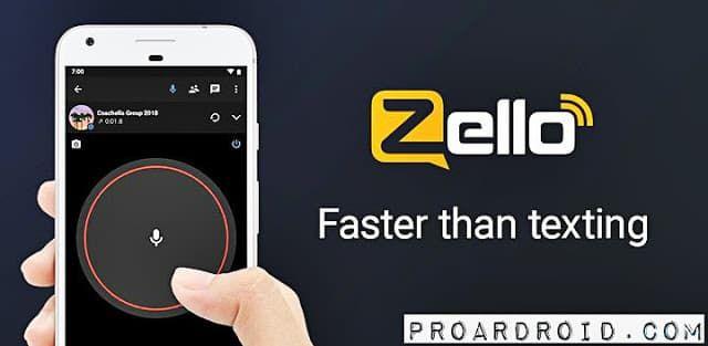 تطبيق Zello PTT Walkie Talkie لتحويل هاتفك إلى ووكي توكي