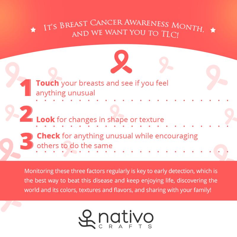 Stay healthy. Keep enjoying life! #BreastCancerAwarenessMonth