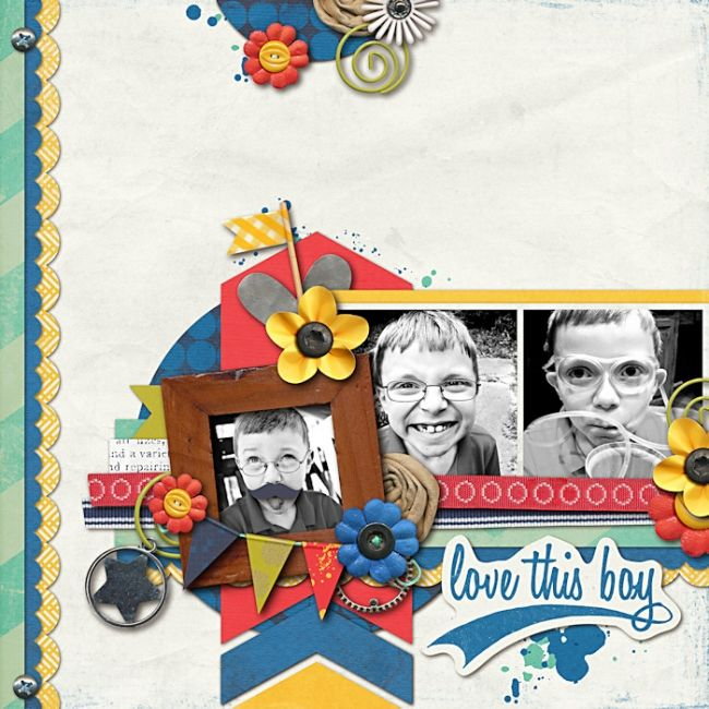 Sweet Shoppe Designs::NEW Releases::New Releases - 6/8::One of the Boys by Erica Zane