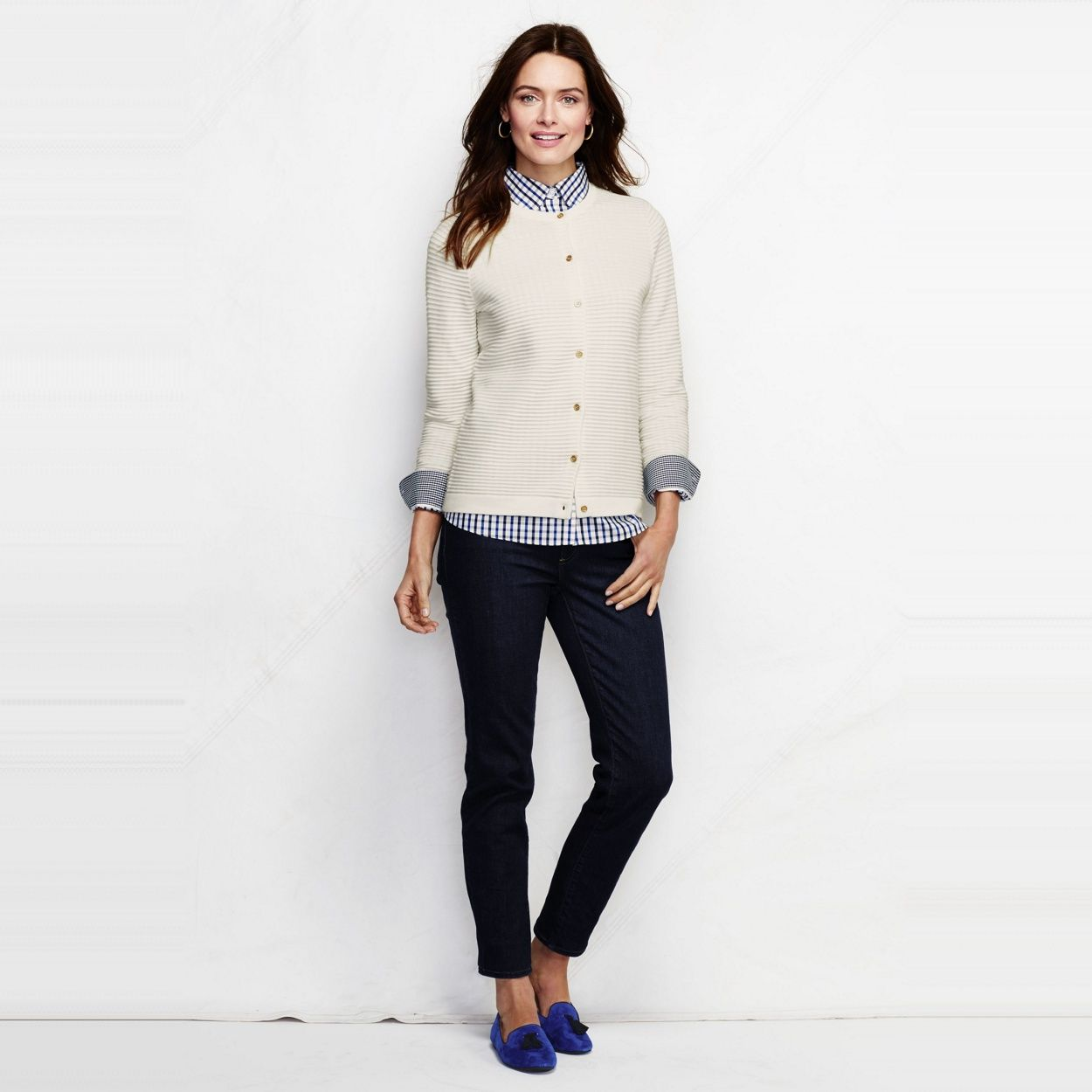 Lands End cardigan