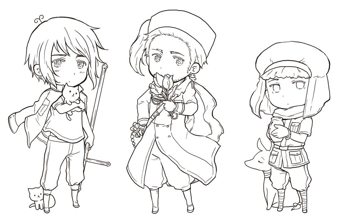 hetalia coloring pages # 5