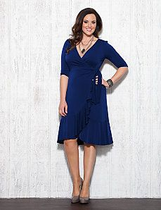 0f3c3f11fb536 Whimsy Wrap Dress