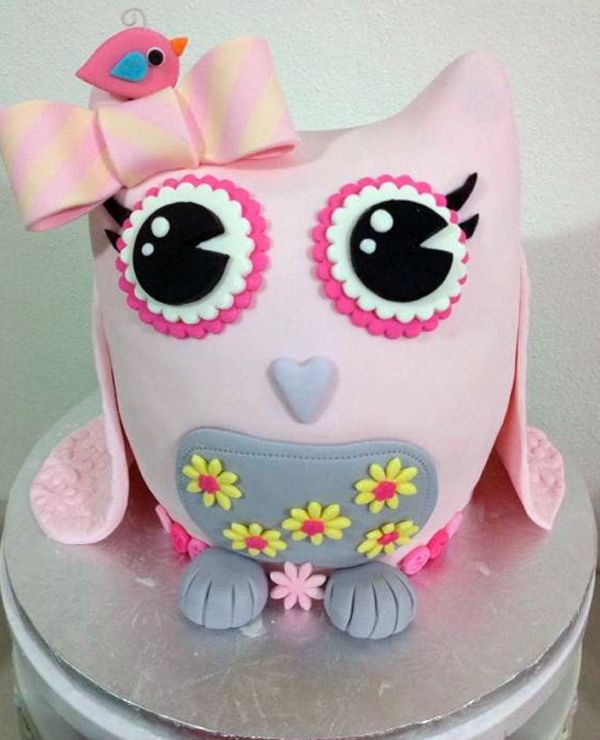 Owl Cupcakes For Baby Shower: Owl Have One Of Those: 9 Whimsical Owl Themed Cakes