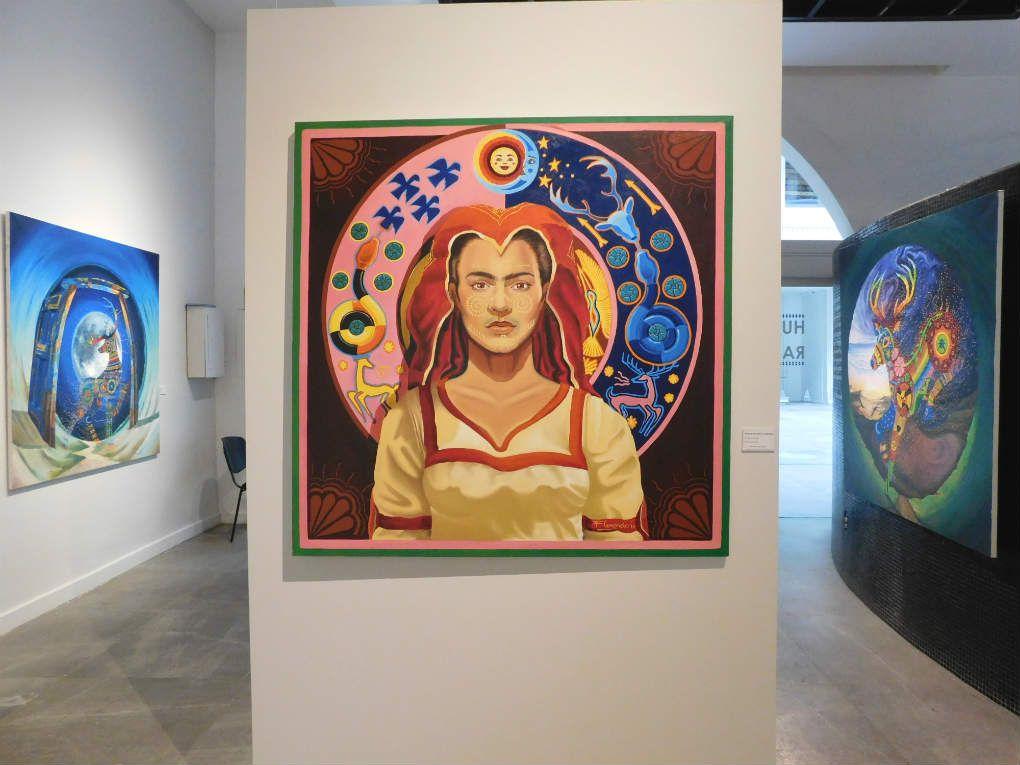 Diosa de las nubes occidentales, obra de Florencio Zavala. Museo de ...