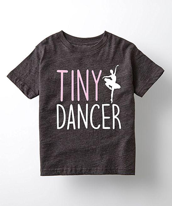 b5ea5bd4d6e3 Heather Charcoal  Tiny Dancer  Tee - Toddler   Girls