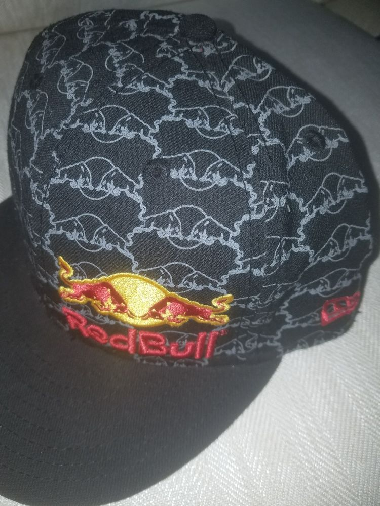 441b08228d8 New Era Red Bull With Patterns Bull Fighter Size 7 5 8  fashion  clothing   shoes  accessories  mensaccessories  hats  ad (ebay link)