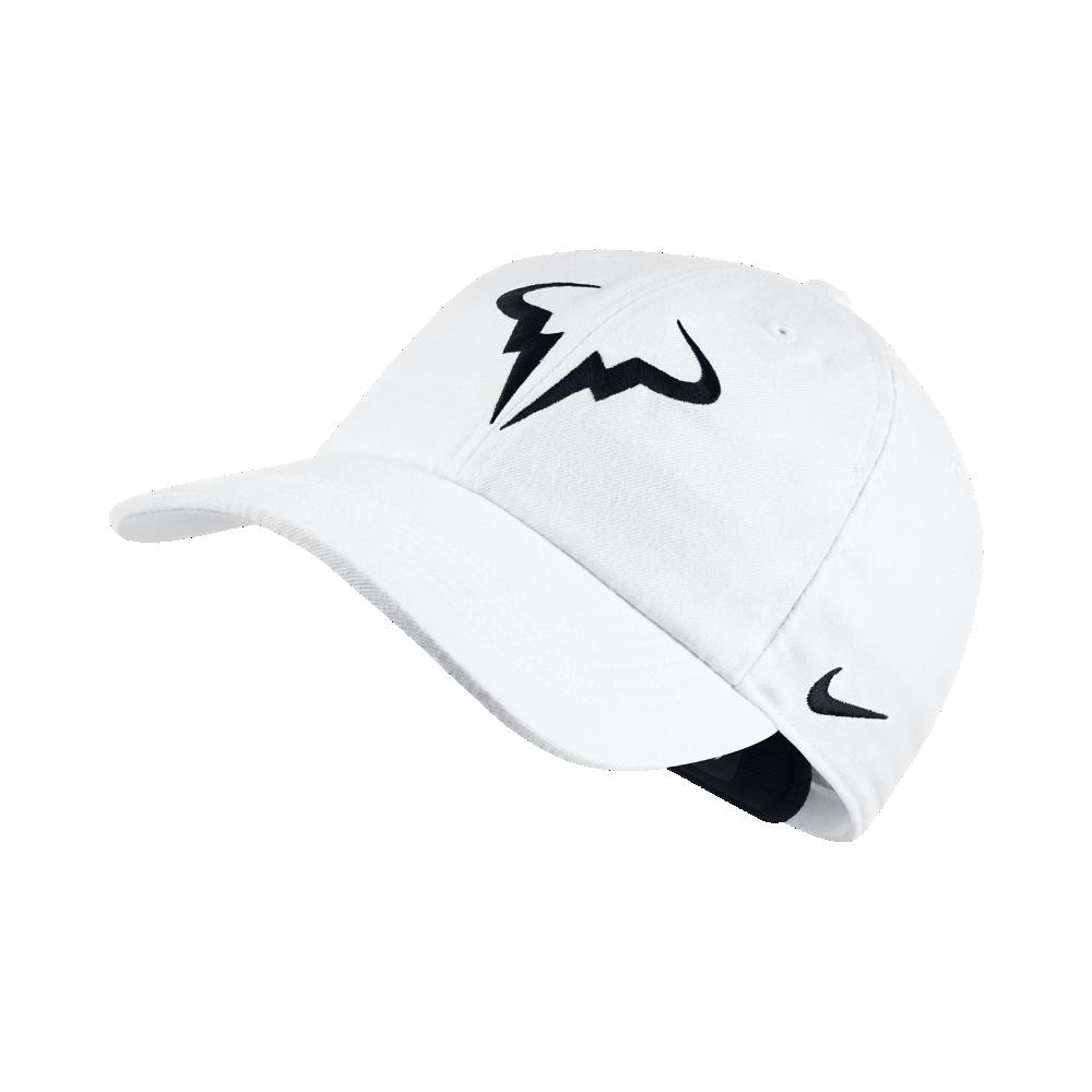 Nike NikeCourt AeroBill H86 Rafael Nadal Adjustable Tennis Hat ... d5e6b6cddd8