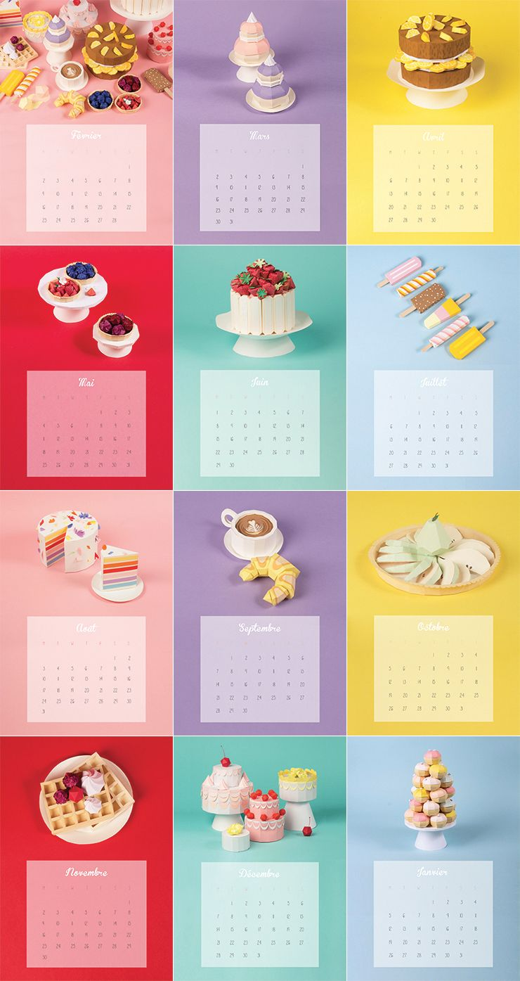 Faux depart pinterest papercraft crafts and 3d paper make my lemonade do it yourself calendar paper cake1 bis solutioingenieria