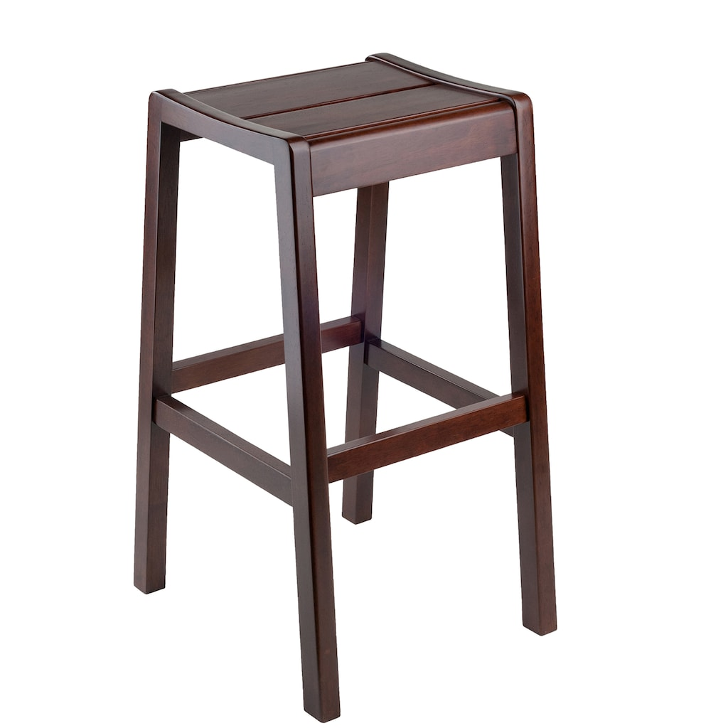 Winsome Alicante Bar Stool Multicolor Backless Bar Stools