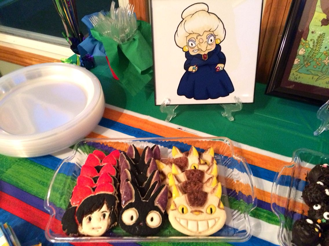 Studio Ghibli Party Decor Studio Ghibli Party Party Decorations
