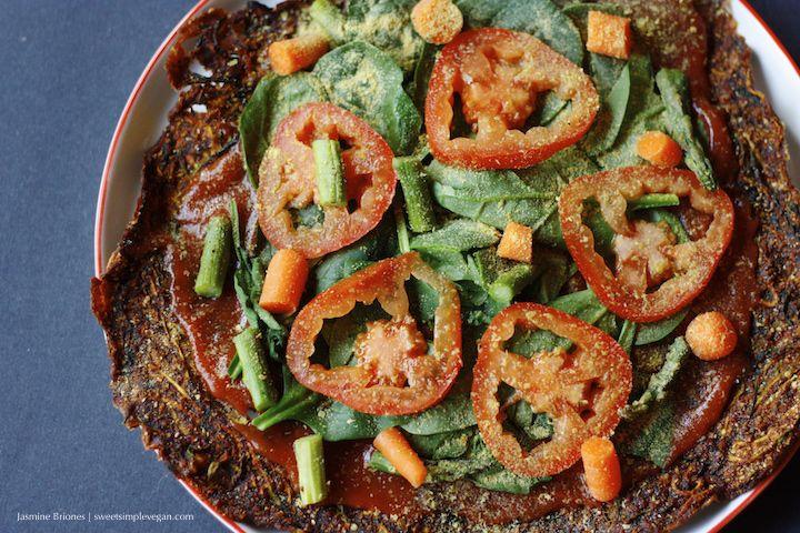 Low fat raw vegan zucchini pizza crust hclf nut and gluten free low fat raw vegan zucchini pizza crust hclf nut and gluten free forumfinder Image collections