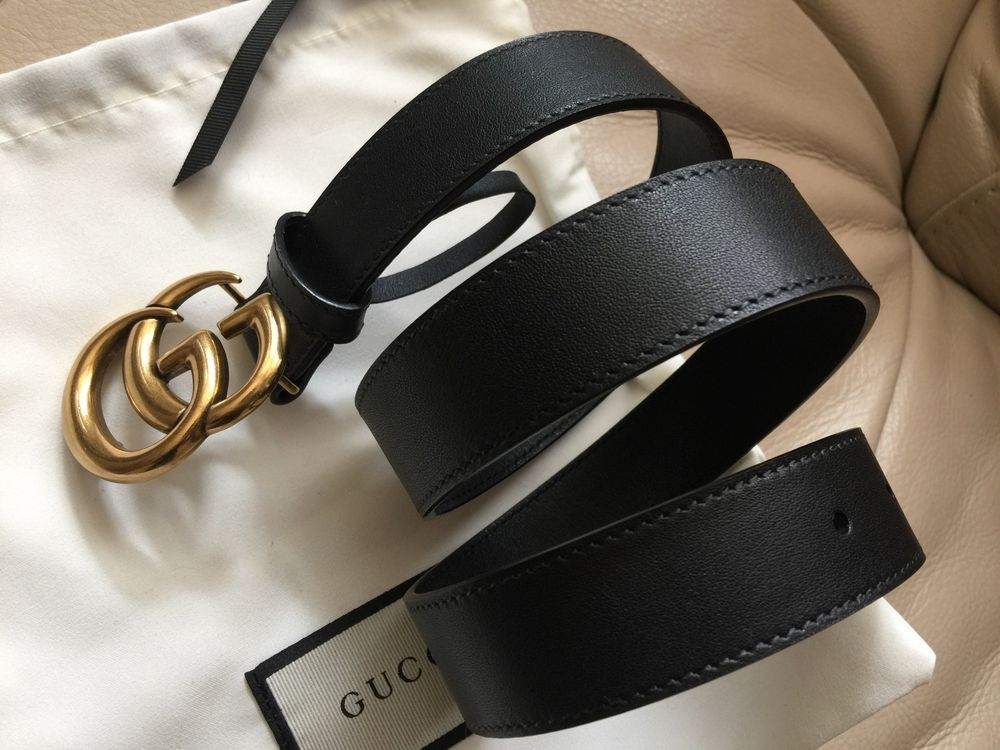 Authentic New Women Gucci Marmont GG Buckle Belt Size 80cm 25-28 Waist !NO  BOX!   Clothing, Shoes   Accessories, Men s Accessories, Belts   eBay! 47f36711905