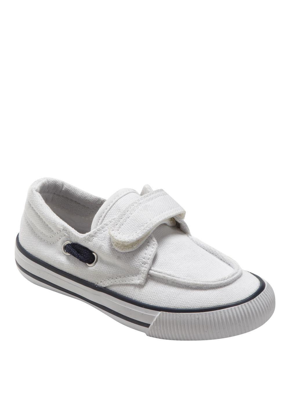 Boys Deck Shoe - Matalan £7.00 - would