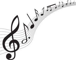 音符イラスト 流れる楽譜 無料のフリー素材 Music Tattoo Applique Templates Art