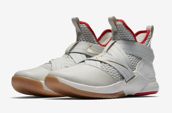 4ac1364adf3 The Nike LeBron Soldier 12 Light Bone Drops At The End Of The Month ...
