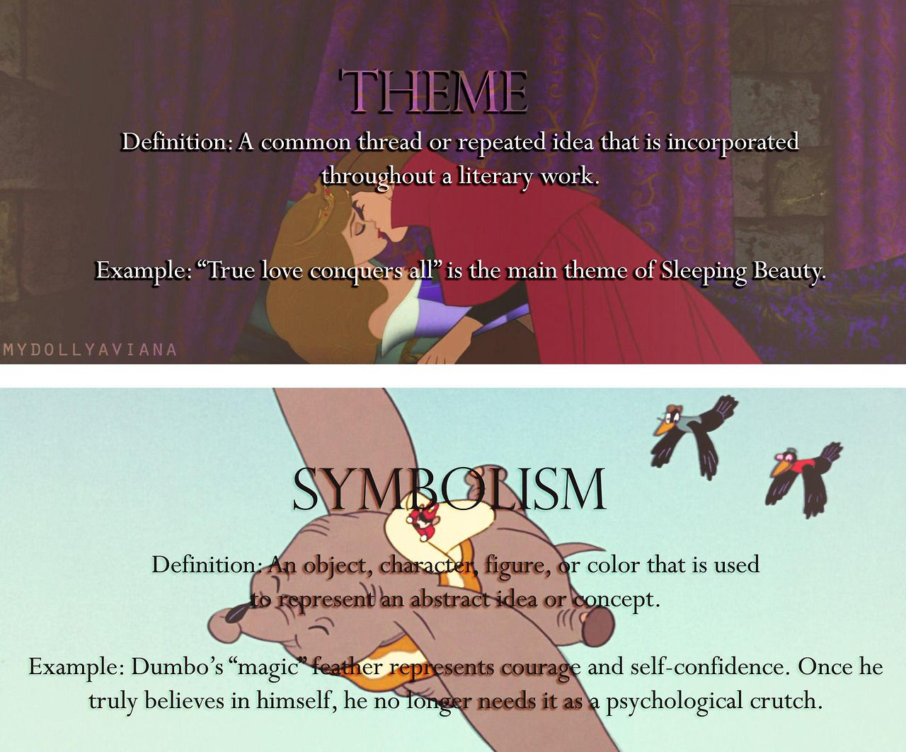 This Is Great Literary Terms Explained Using Disney Films Books
