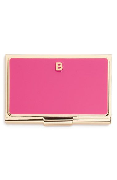 Kate Spade New York One In A Million Business Card Holder Nordstrom Monogrammed Business Card Holder Business Card Holders Card Holder