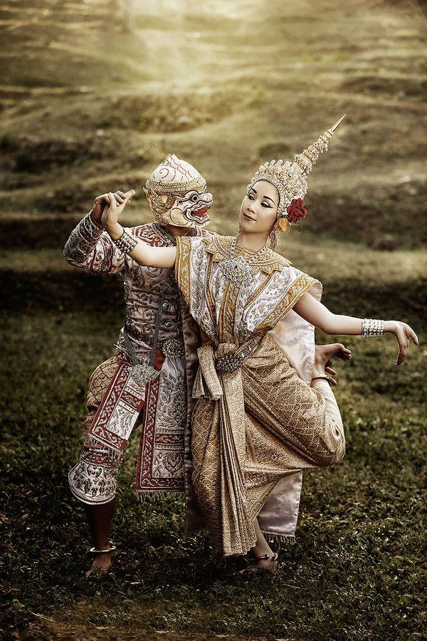 Khon, Thai Art, Thai Dance.  by Yanapon Kuttasingkee on 500px
