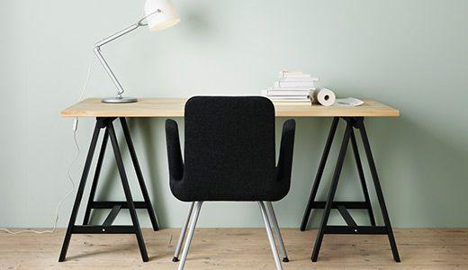 Ikea werkbladen bureau by van design keukens en ikea in hoogte