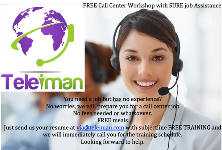 Teleiman Llc A Telemarketing Call Center Invites Job