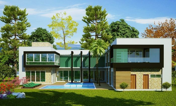 Projeto Arquitetônico Sobrado Luanda • Cód. 210 • R 5