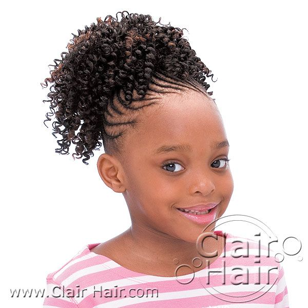 Wondrous 1000 Images About Black Kids Hairstyles On Pinterest Black Short Hairstyles Gunalazisus