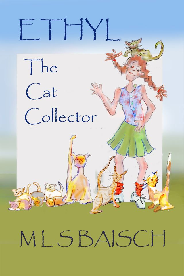 ETHYL HAS A BIG HEART, A SENSE OF JUSTICE, AND A LOT OF CATS! It's a combination, of course, destined to lead to interesting problems as she and her friend, Fred, undertake their worthy mission: SAVE THE CATS!