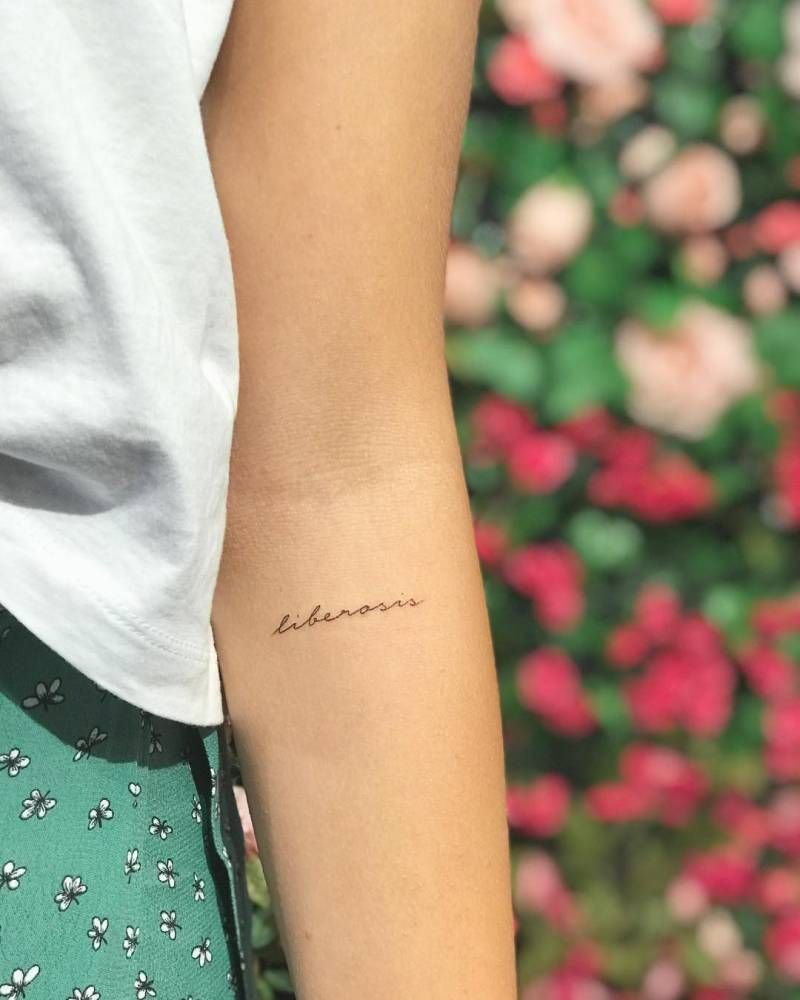 """, """"Liberosis"""" is the desire to care less about, My Tattoo Blog 2020, My Tattoo Blog 2020"""
