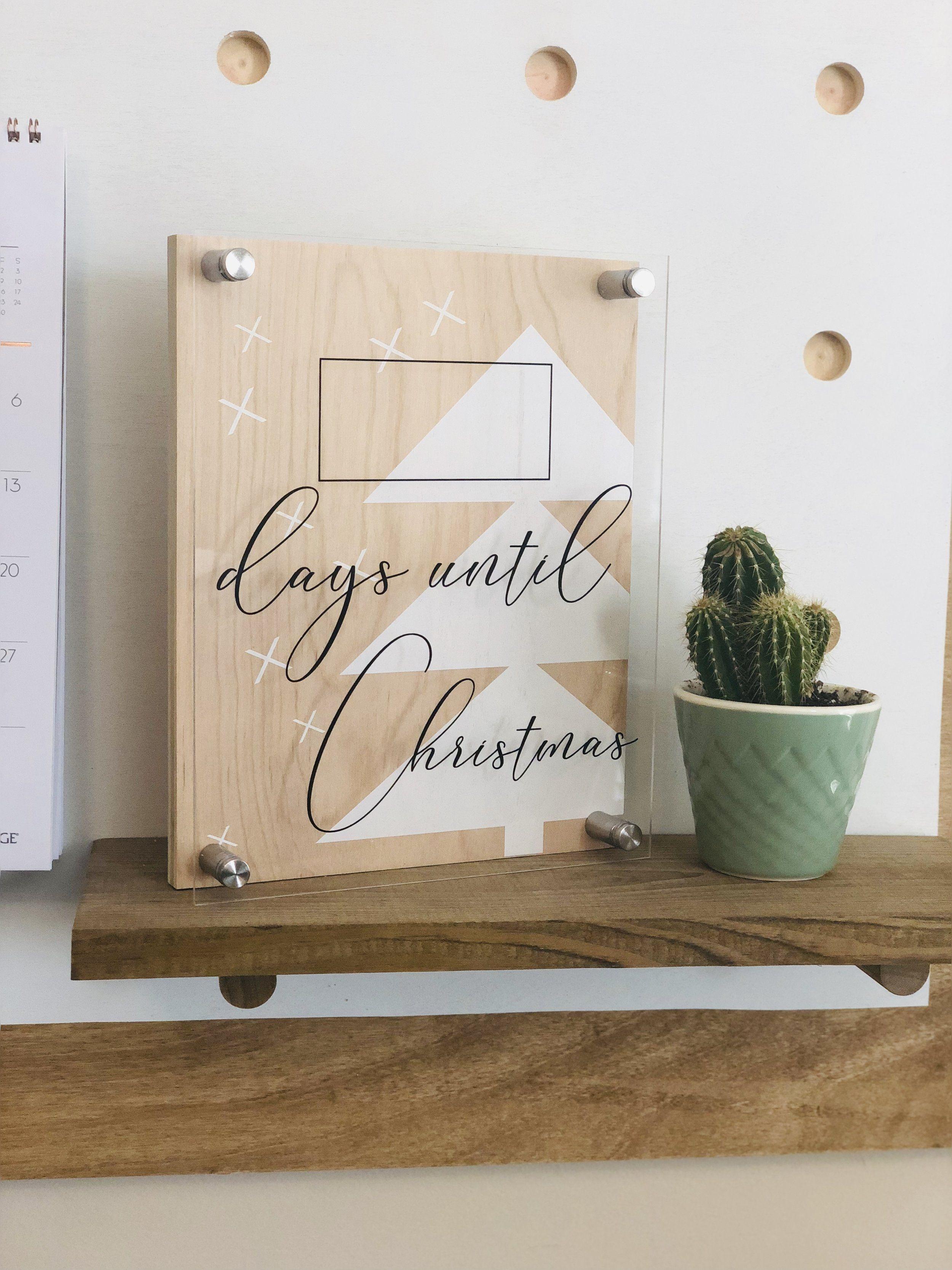 Christmas Countdown | Days Until Christmas | Holiday Decor | Gift