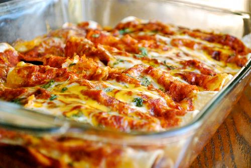 Shredded Chicken Enchiladas Recipe Yum Pinterest Chicken
