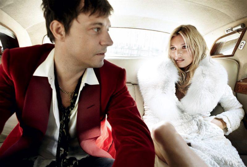 Kate Moss and Husband Jamie Hince | photography by Mario Testino | Vogue, Sep 2011