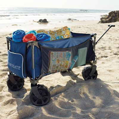 Foldable Beach Wagon Frontgate To The