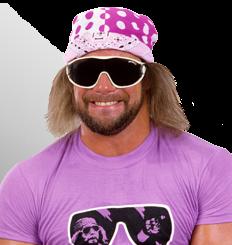 Randy Savage Macho Man Randy Savage Sports Hero Watch Wrestling