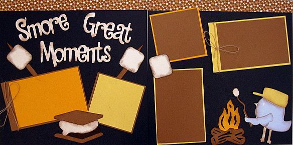 Smore great moments 2 page 12x12 do it yourself scrapbook kit 700 smore great moments 2 page 12x12 do it yourself scrapbook kit 700 solutioingenieria Image collections