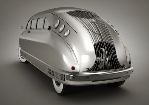 1935 Stout Scarab (Rear)  Research for possible future project.