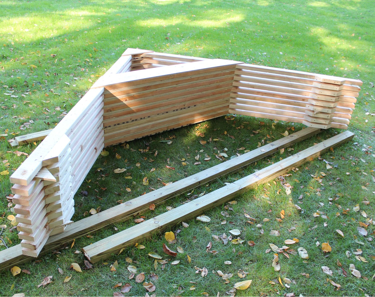Art And Home Truss System For Shed Barn Or Tiny House
