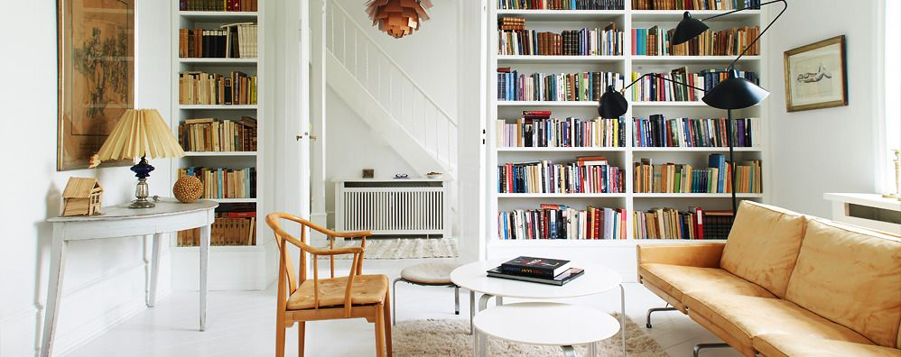 Scandinavian Library Collection At 1stdibs Library Furniture Home Scandinavian