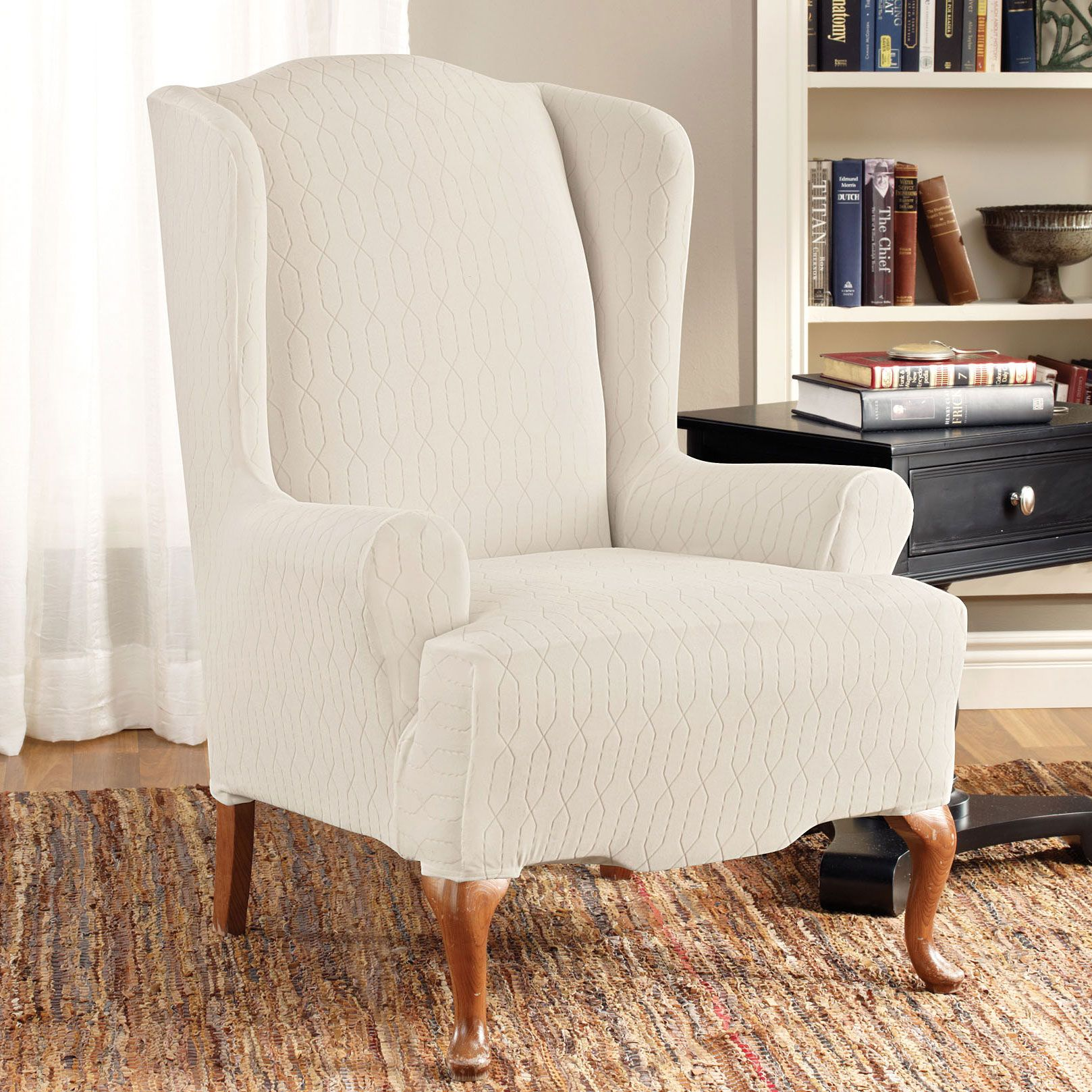 brylanehome chair covers massage prices stretch links wing slipcover for my wingchair