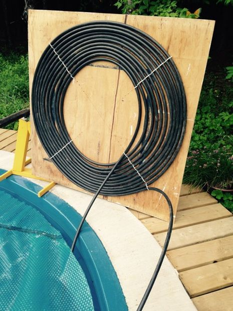 Diy 1 hour solar pool heater solar - How to build a swimming pool heater ...