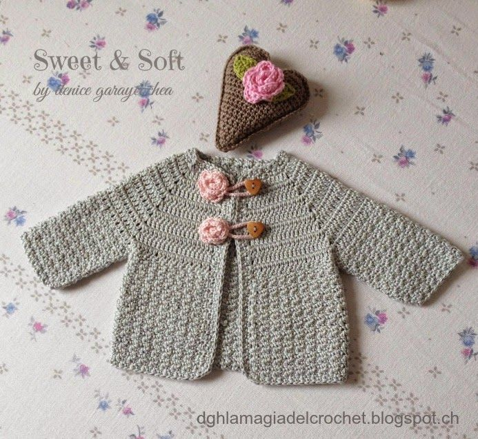bebes niño sacos crochet patrones gratis - Buscar con Google ...