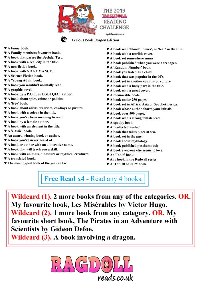 Reading Challenge, Book Challenge