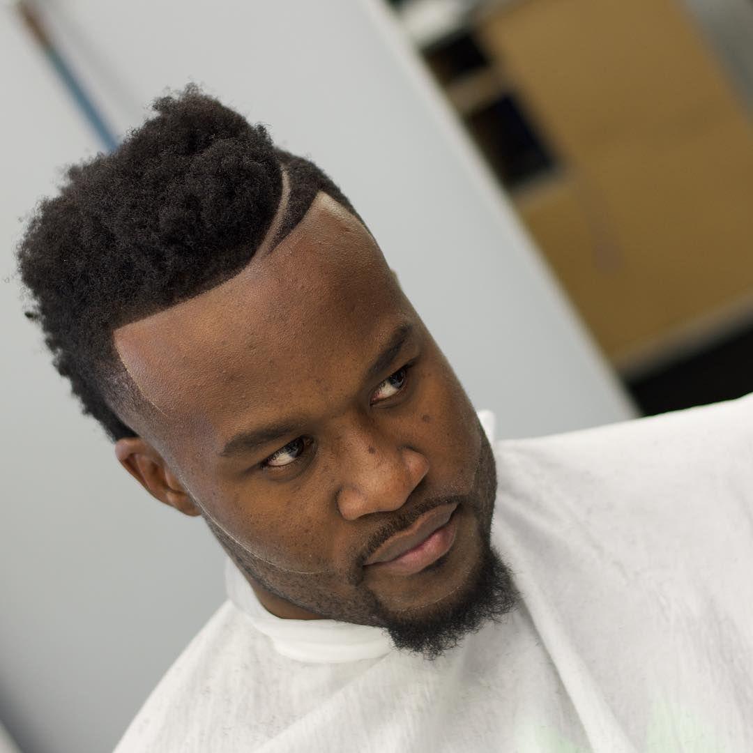 Curly haircuts black men cool  modern hard part haircut ideas  choose yours  haircut