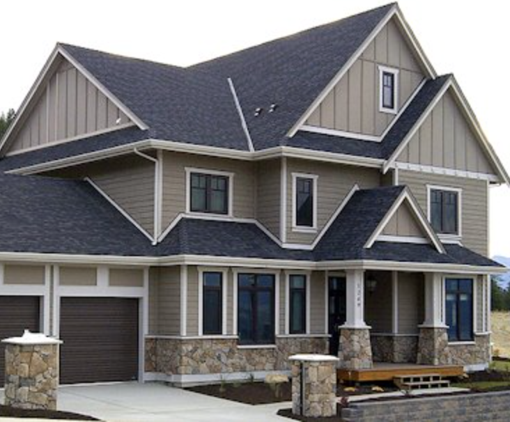 Pin By N Hall On House Exterior Vertical House Siding Exterior Siding House Exterior