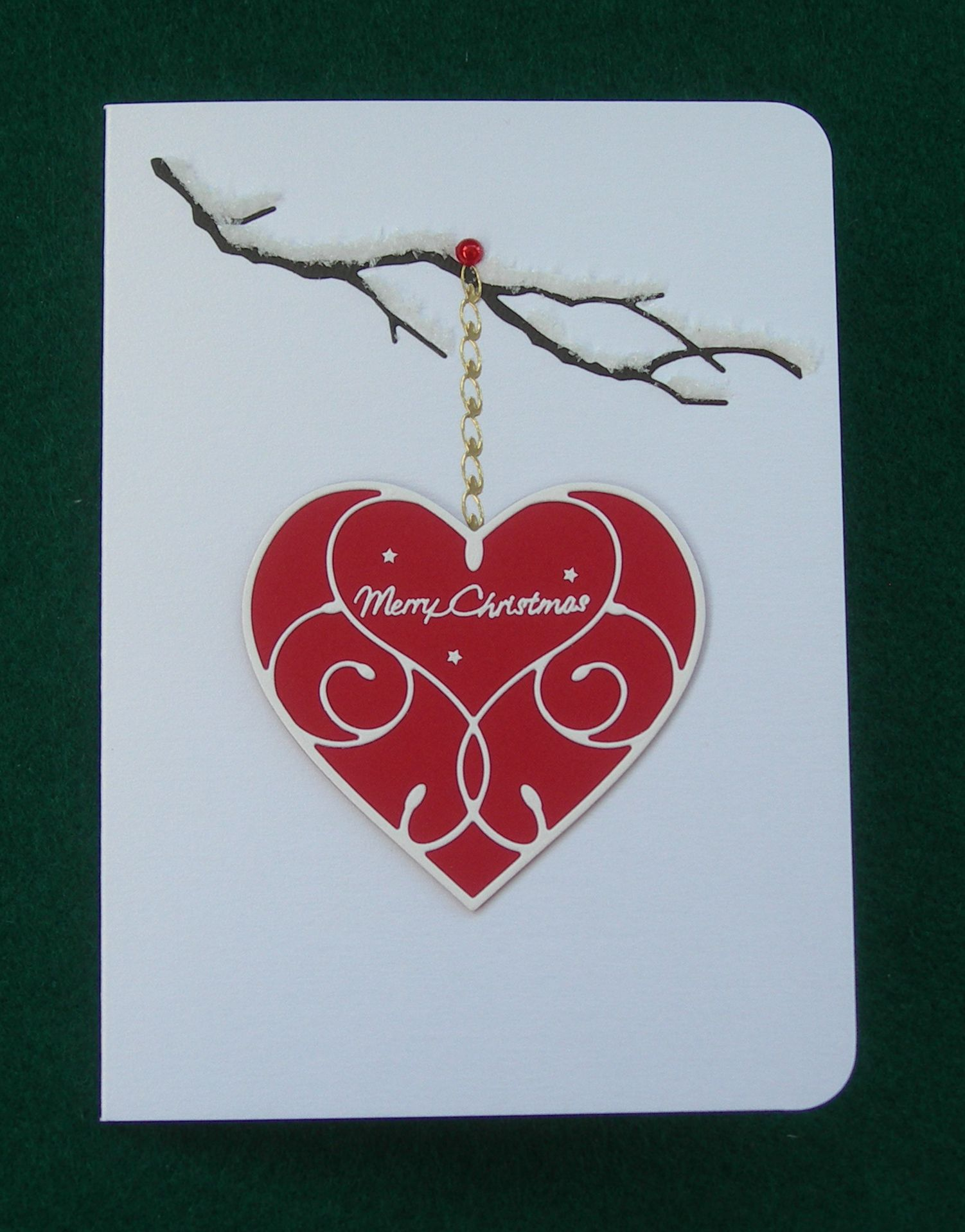 Mb Silverdale Heart Cupid Heart Woodland Branch I Used Flower