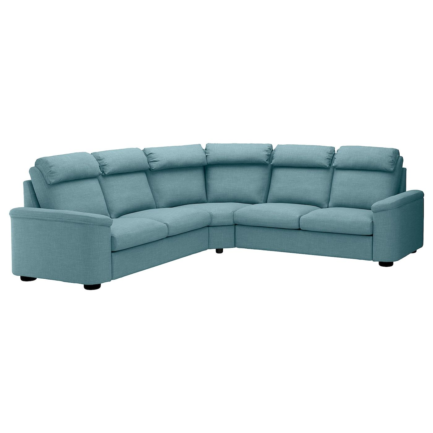 Lidhult Corner Sleeper Sofa 5 Seat Gassebol Bluegray In