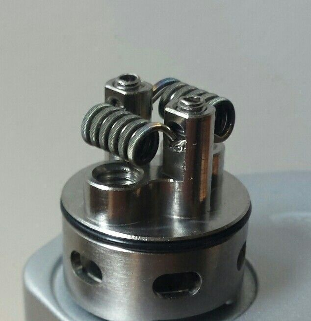 daily build 26g N80 fused Clapton with 26g KA1 0.13 Ohm